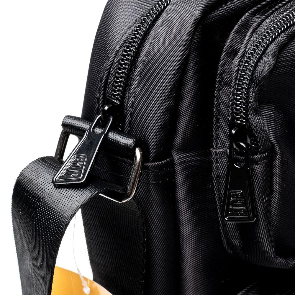 Сумка текстильная мужская JCB B32 Black (Черный)