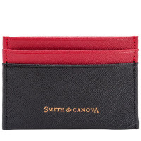 Картхолдер Smith & Canova 26827 - Devere (Black-Red)