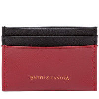 Картхолдер Smith & Canova 26827 - Devere (Red-Black)