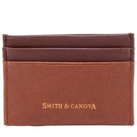 Картхолдер Smith & Canova 26827 - Devere (Tan-Brown)