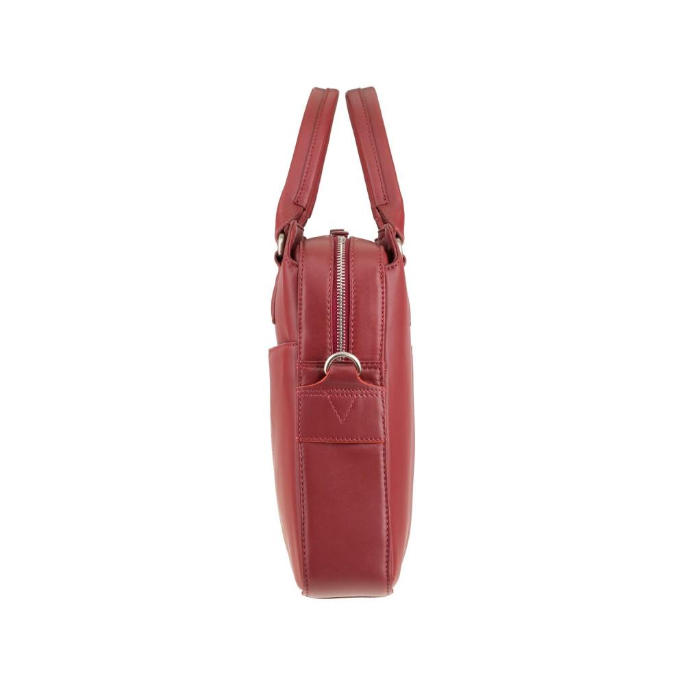 "Женская кожаная сумка для ноутбука 13"" Visconti WB70 Harriet (Red)"