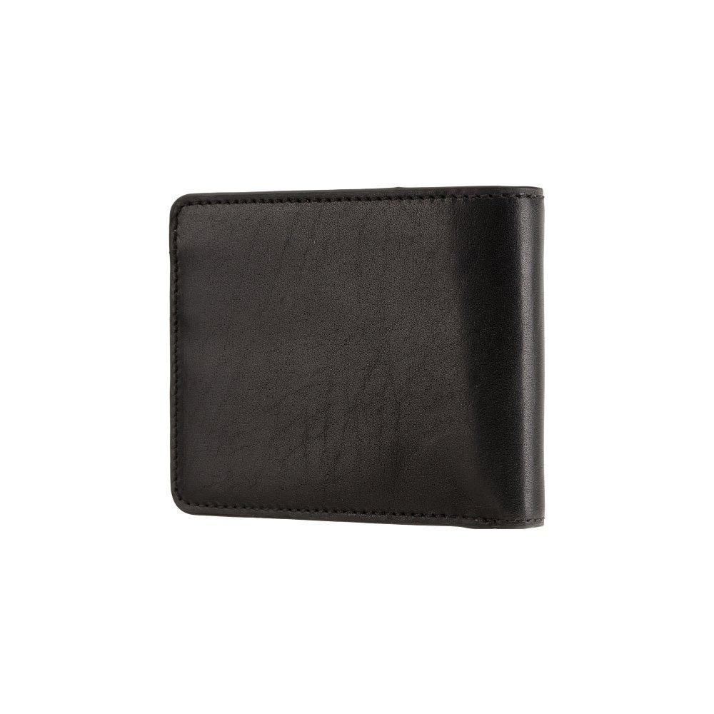 Мужской кожаный кошелек Visconti ENZ78 с RFID Girard (Black Shadow)
