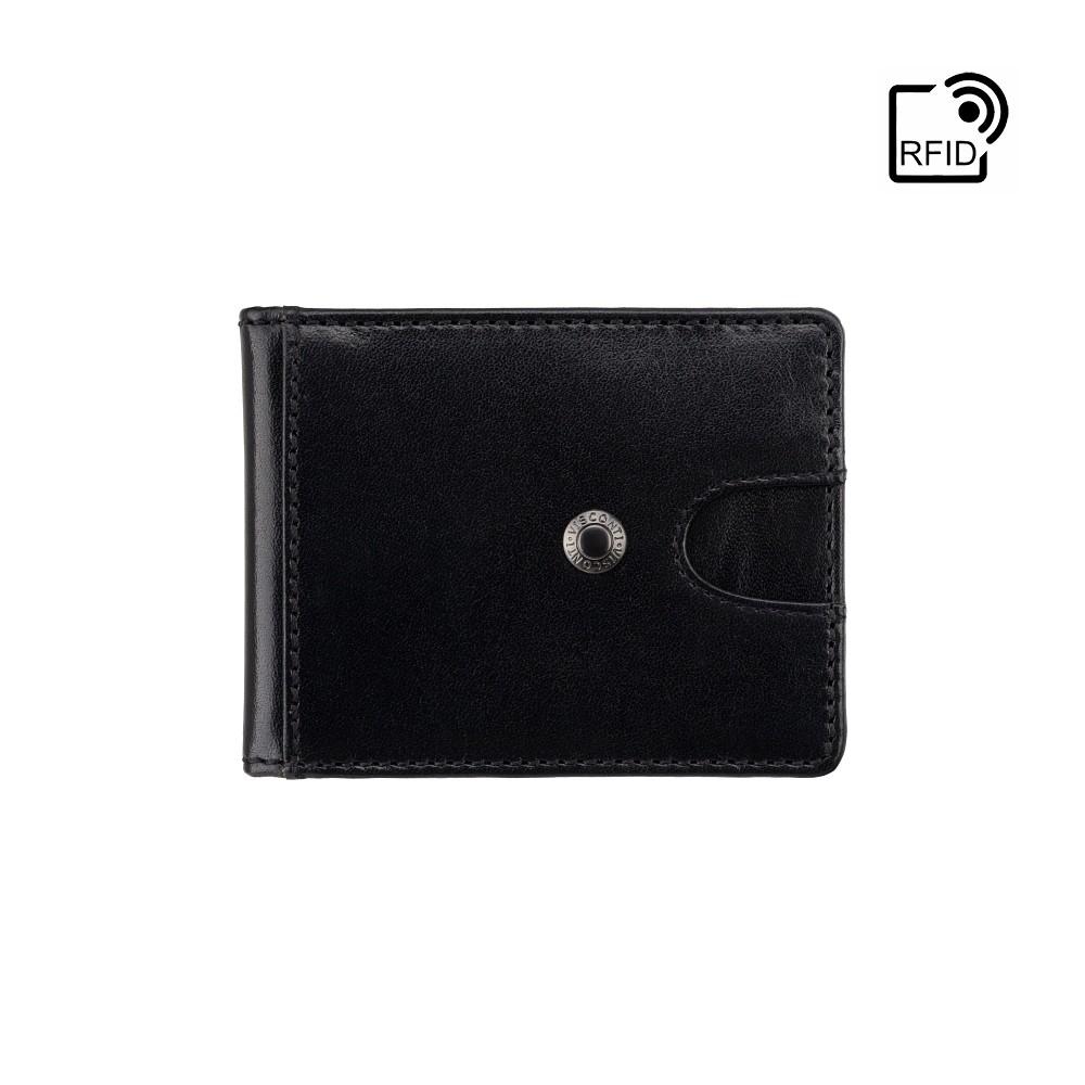Зажим для купюр с Tap-n-Go  Visconti VSL57 Chisel (Black Monza/Orange)