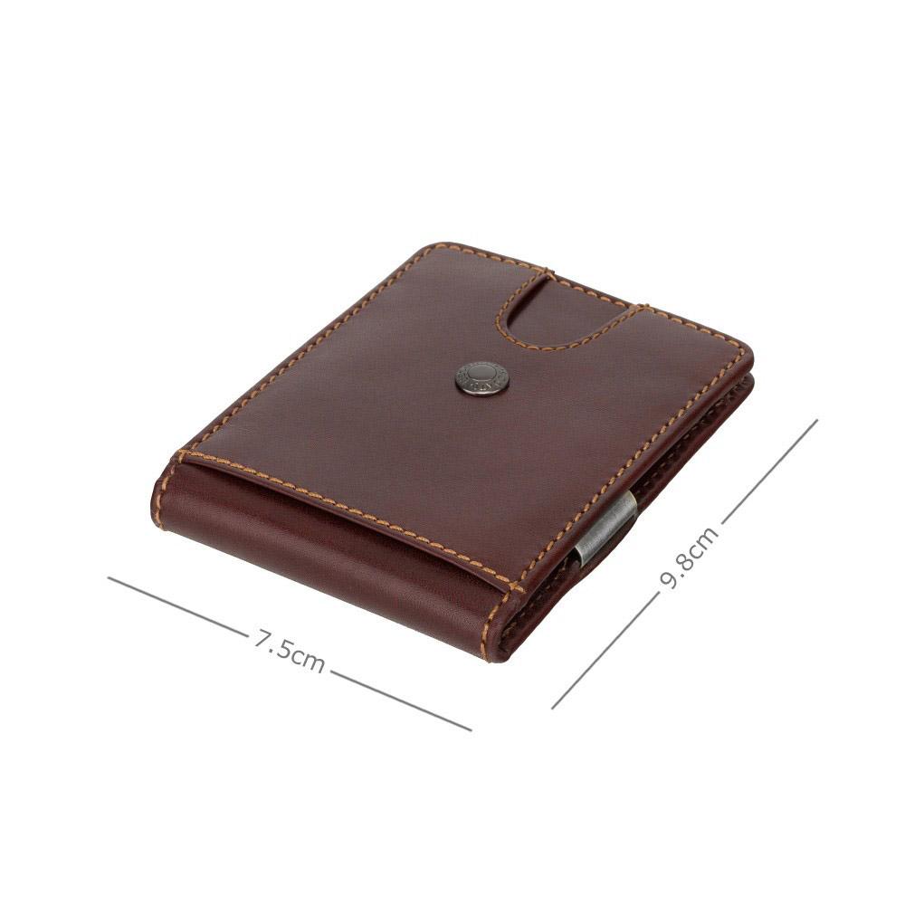 Зажим для купюр с Tap-n-Go Visconti VSL57 Chisel (Brown Monza)