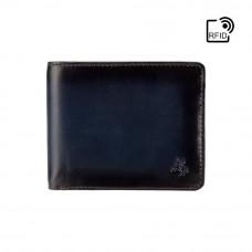 Мужской кошелек Visconti AT60 Tap-n-Go c RFID Arthur (Burnish Blue)