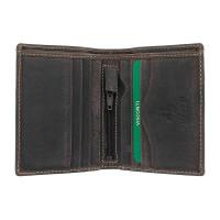 Мужской кожаный кошелек Visconti 705 - Arrow (oil brown)