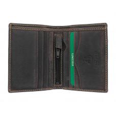 Мужской кожаный кошелек без монетницы Visconti 705 - Arrow (oil brown)