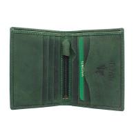 Мужской кожаный кошелек Visconti 705 - Arrow (oil green)
