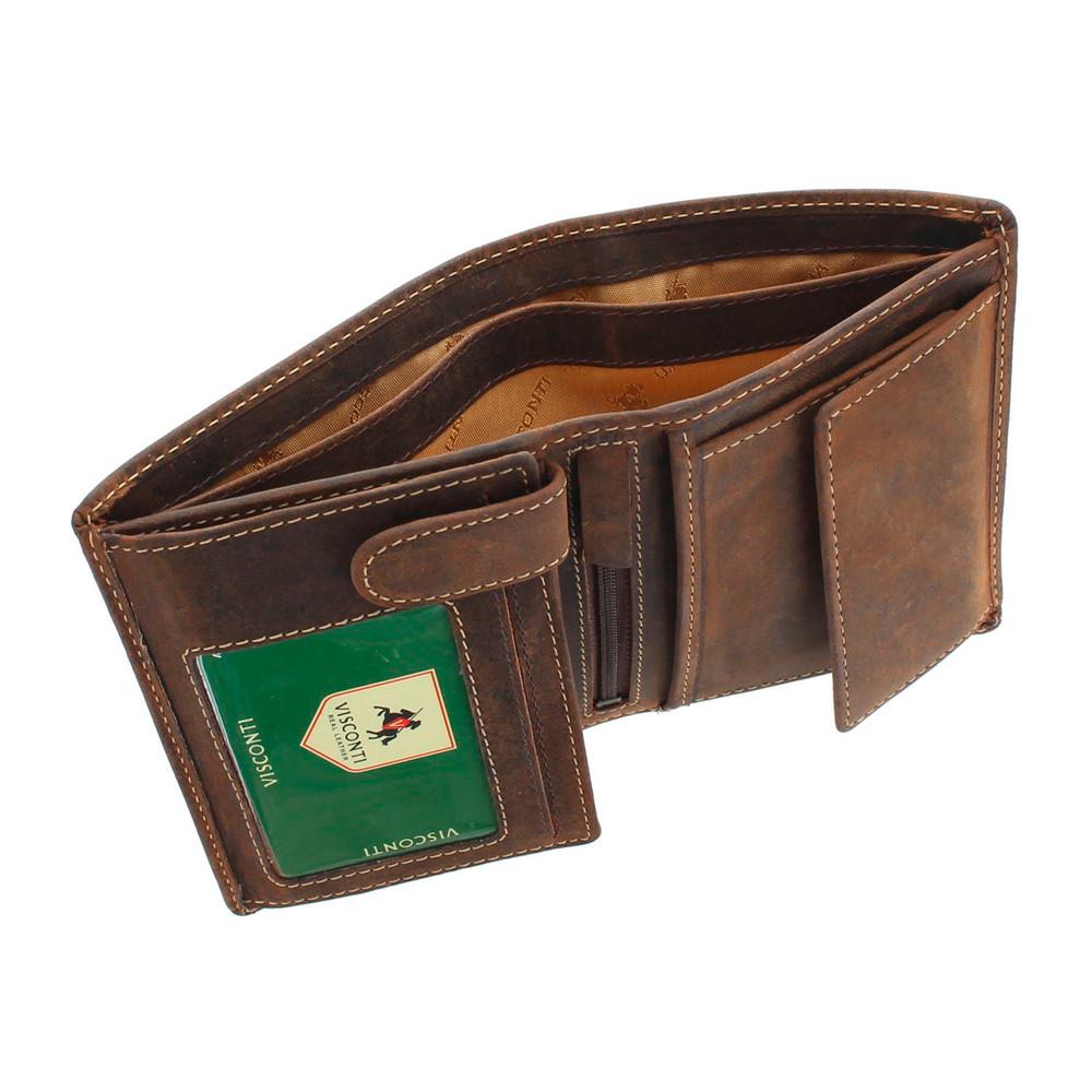 Мужской кожаный кошелек Visconti 709 - Rifle (oil tan)