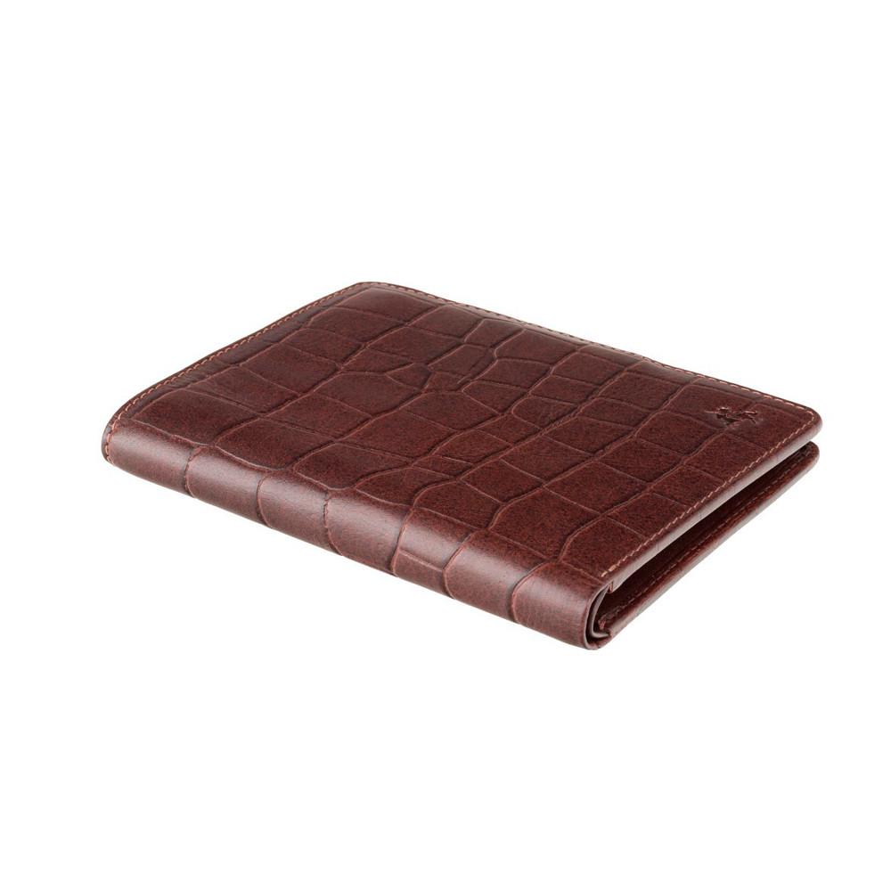 Мужской кожаный кошелек Visconti CR93 - Predator (brown)