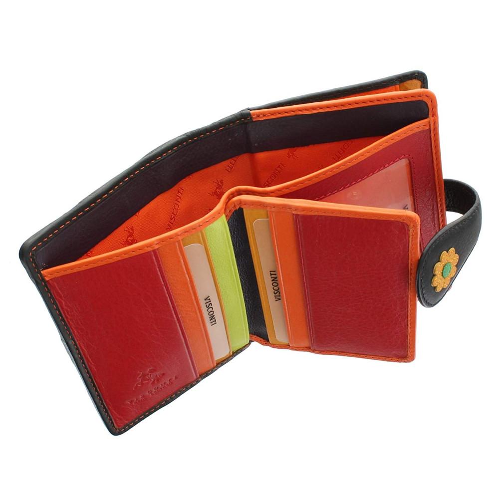 Женский кошелек Visconti DS80 - Sunshine (black)