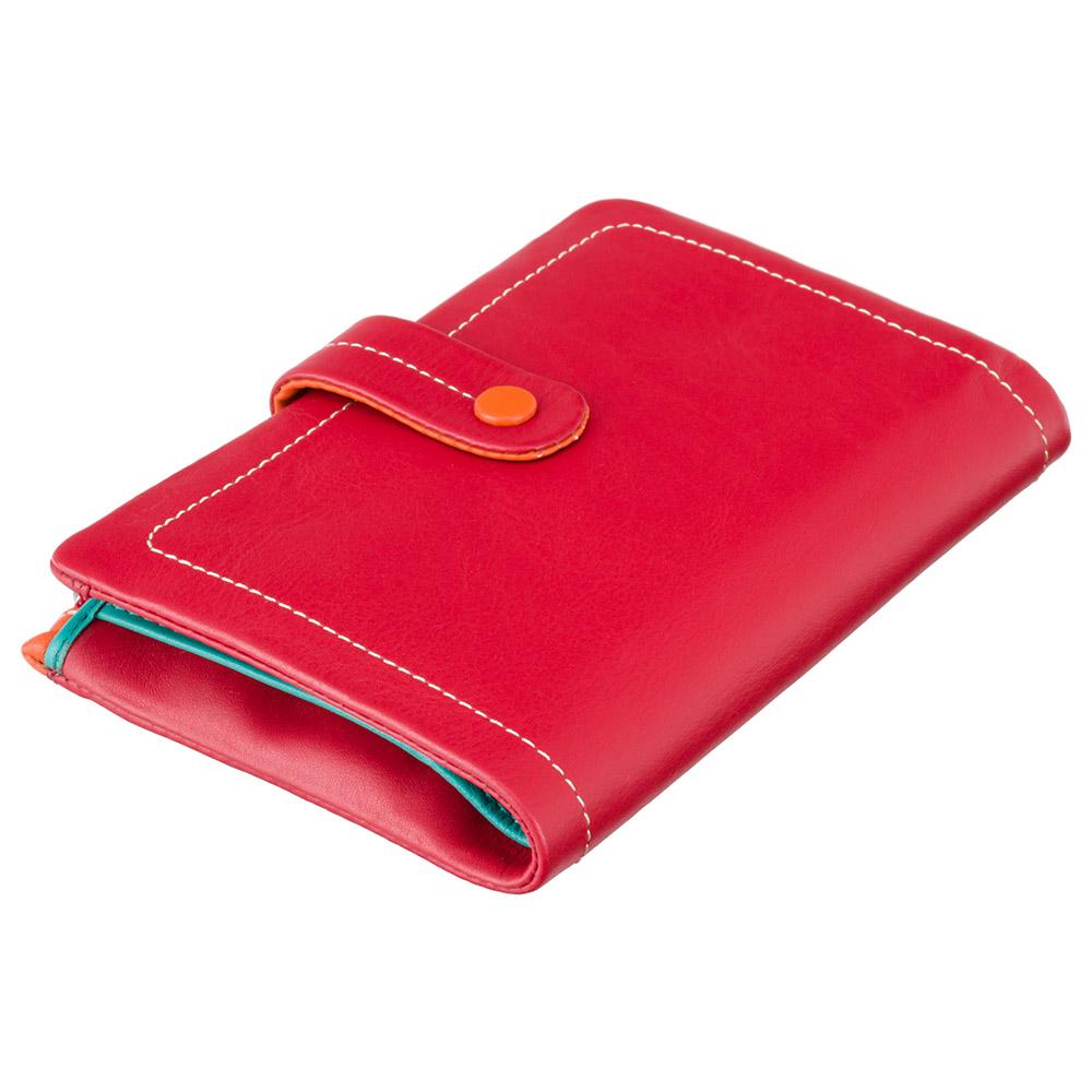 Женский кожаный кошелек Visconti M87 - Malibu (red multi)