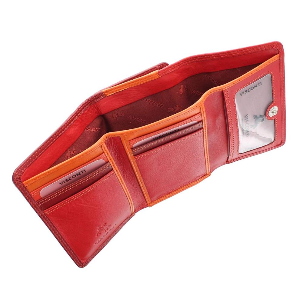Женский кошелек Visconti RB39 - Biola (Red Multi)