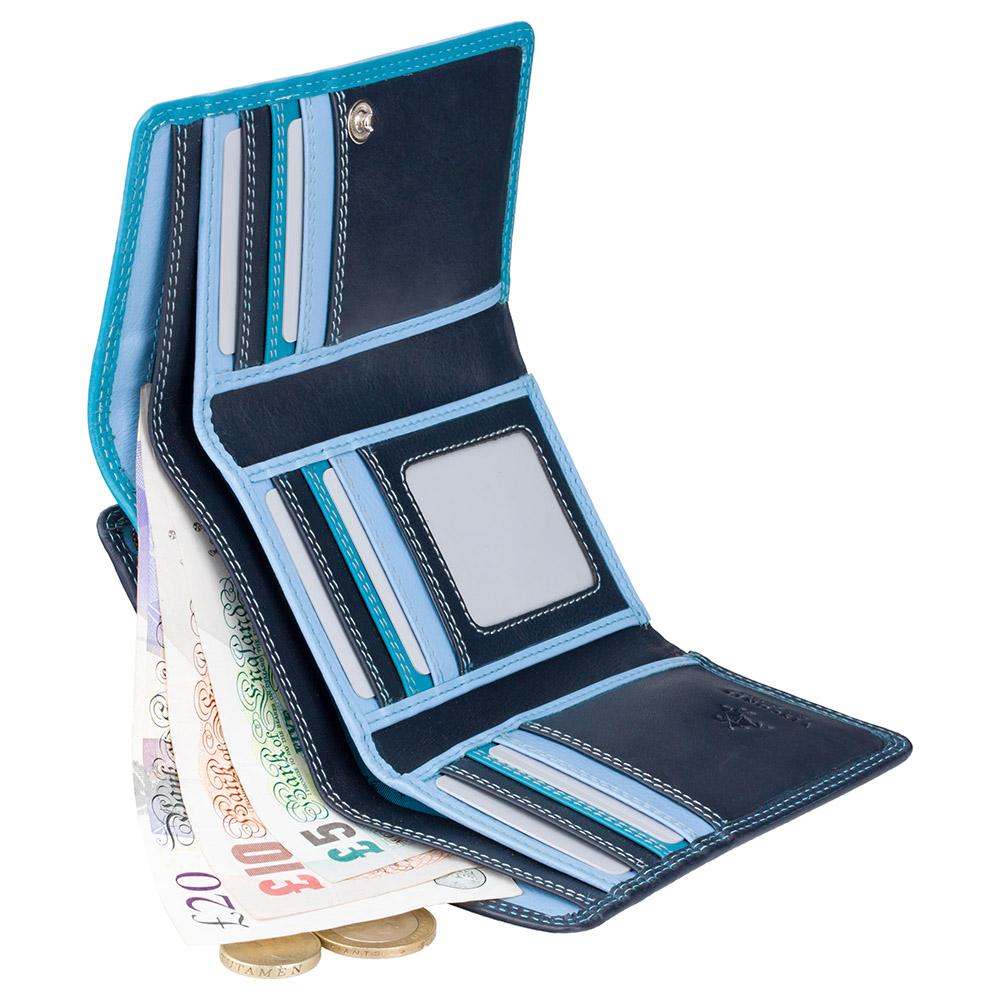 Женский кошелек Visconti RB43 - Bora (Blue Multi)