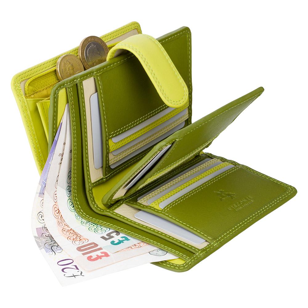 Женский кошелек Visconti RB51 - Fiji (lime multi)