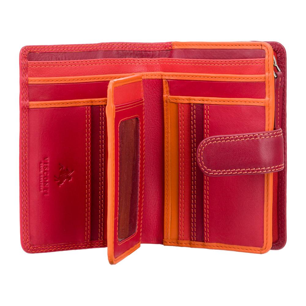 Женский кошелек Visconti RB51 - Fiji (red multi)