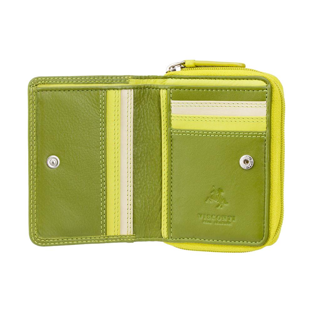 Женский кошелек Visconti RB53 - Hawaii (Lime Multi)
