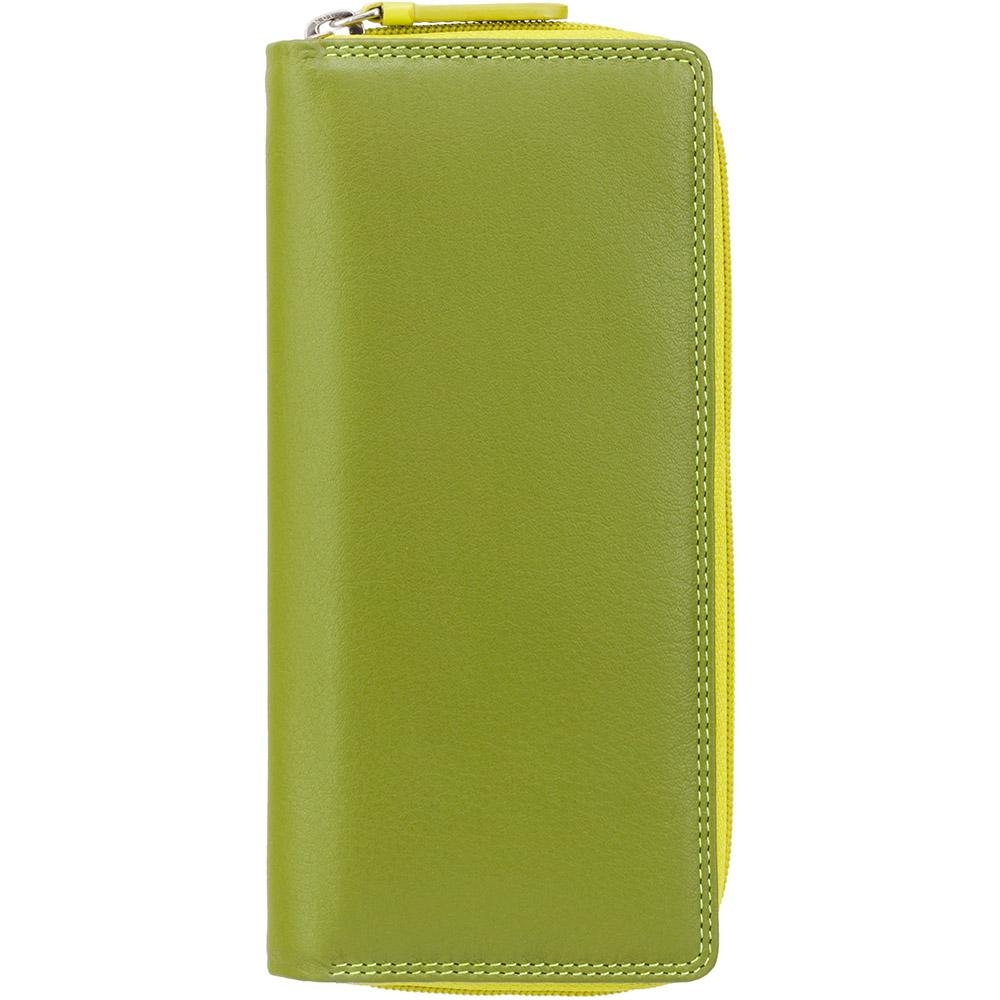 Женский кошелек Visconti RB55 - Honolulu (Lime Multi)