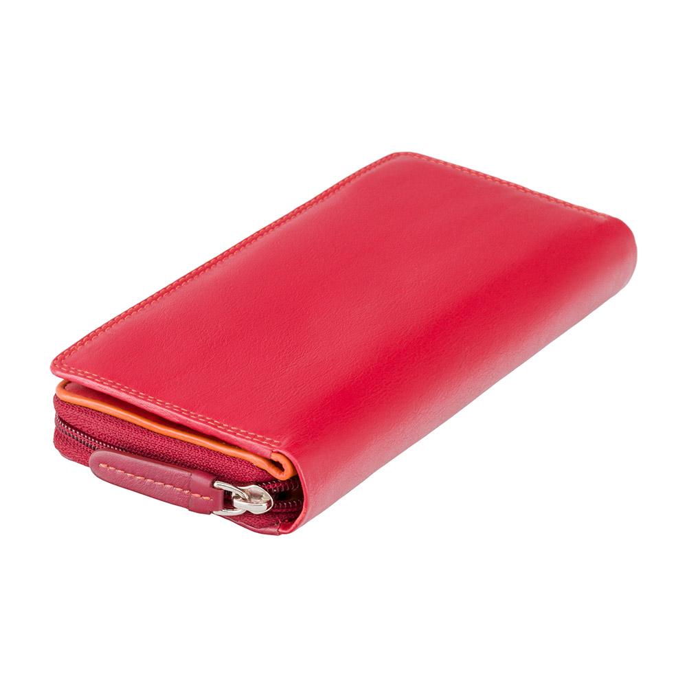 Женский кошелек Visconti RB55 с RFID - Honolulu (red multi)