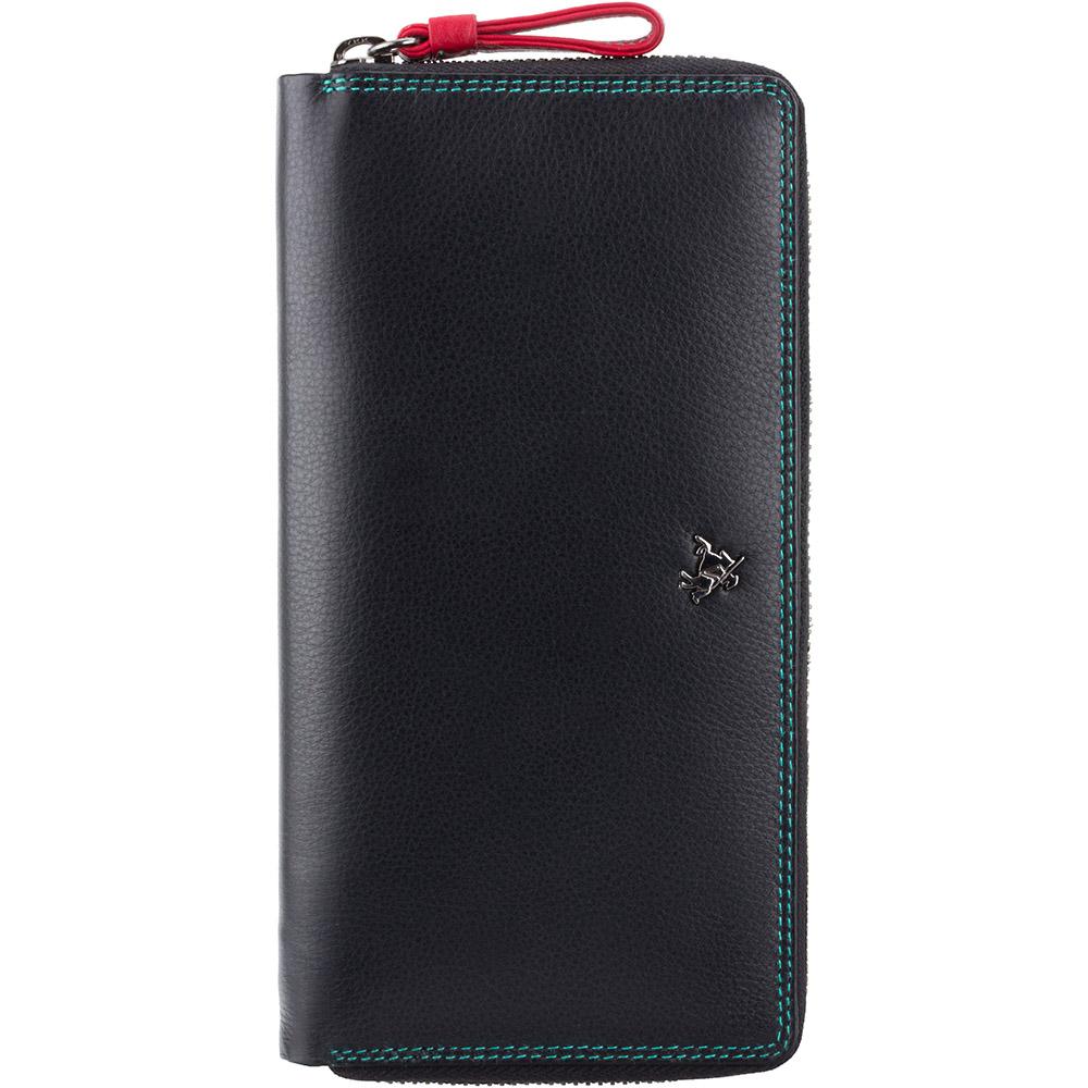 Женский кошелек Visconti SP33 с RFID - Iris (Black Multi)