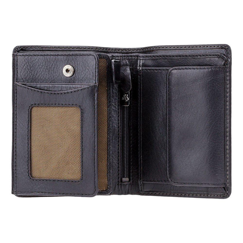 Мужской кожаный кошелек Visconti TSC44 - Lucca (black)