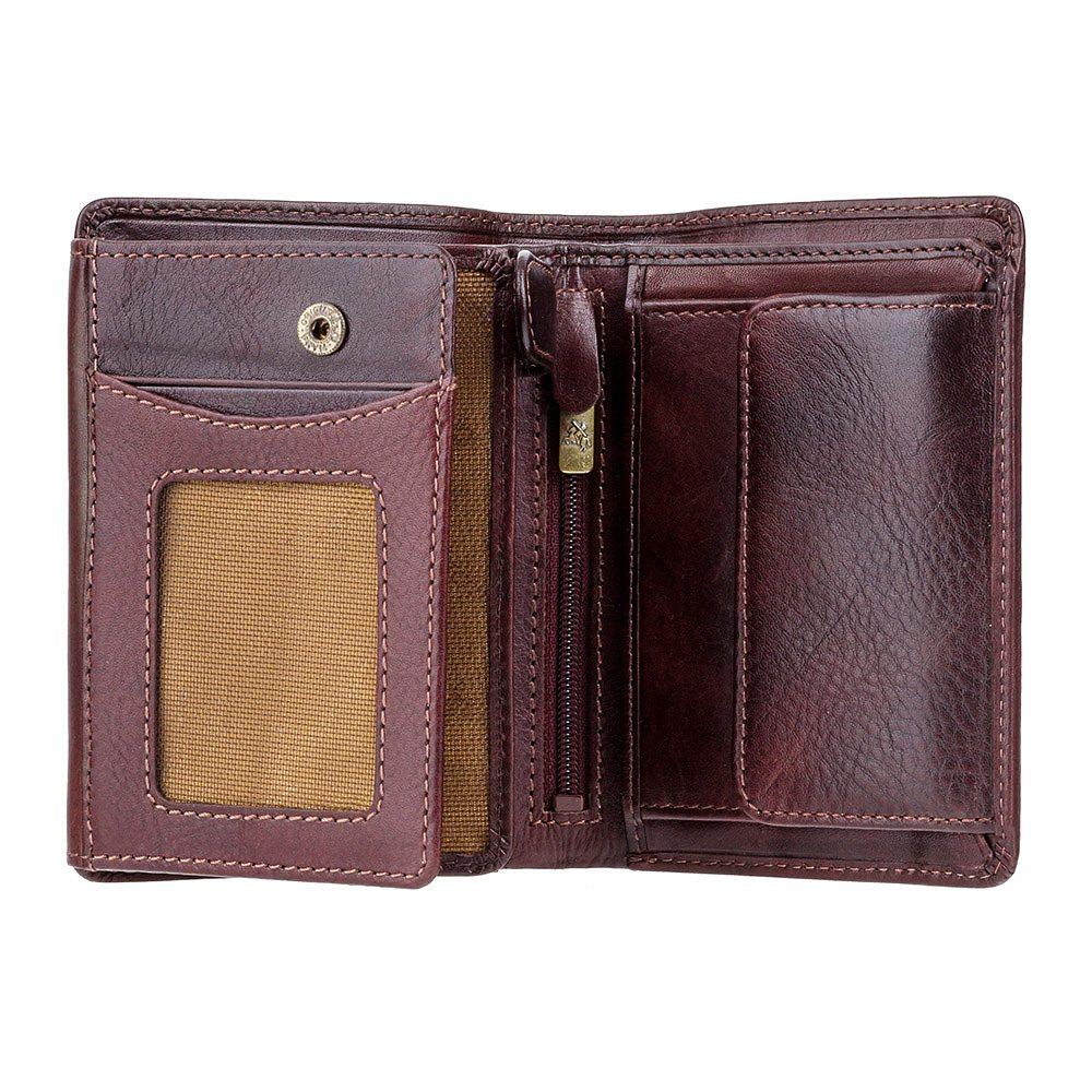 Мужской кожаный кошелек Visconti TSC44 - Lucca (brown)