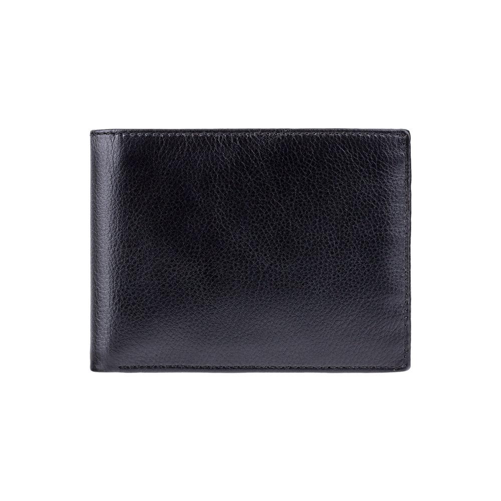 Мужской кожаный кошелек Visconti VSL20 с RFID - (Black-Cobalt)