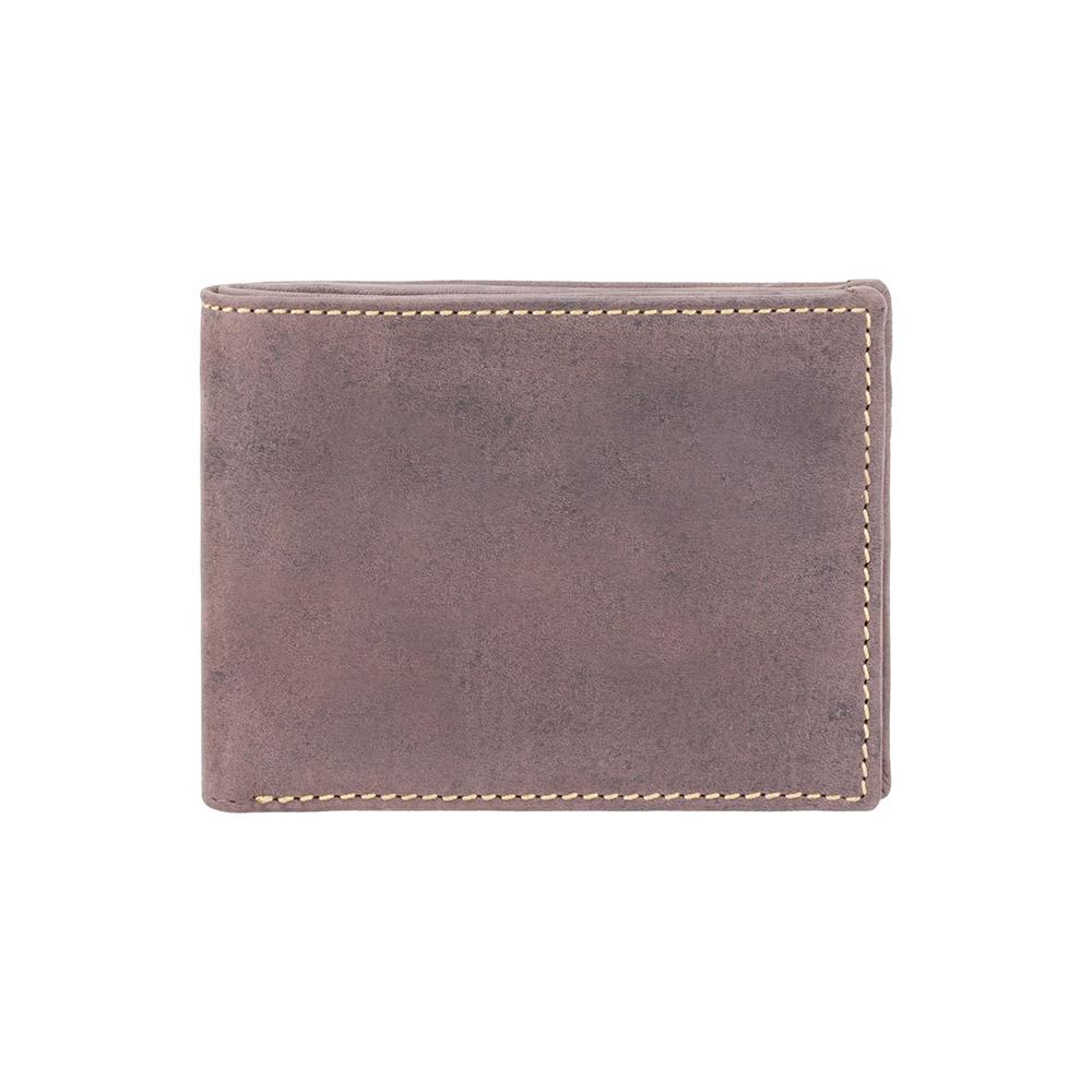 Мужской кожаный кошелек Visconti VSL20 с RFID - (Oil Brown)