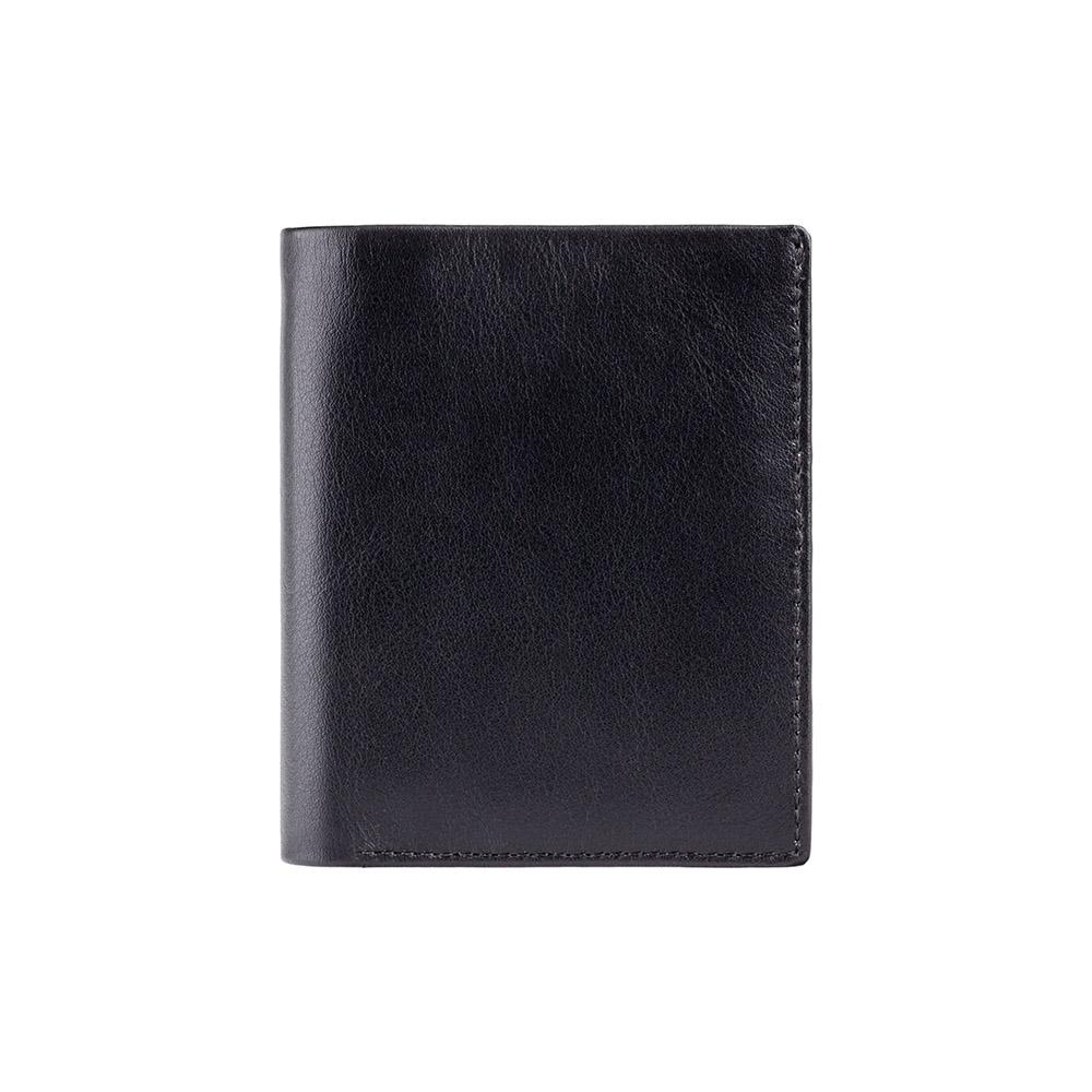 Мужской кожаный кошелек Visconti VSL26 с RFID Jevelin (Black/Red)