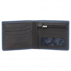 Мужской кошелек Visconti VSL33 с Tap-n-Go  (Steel Blue/Black)
