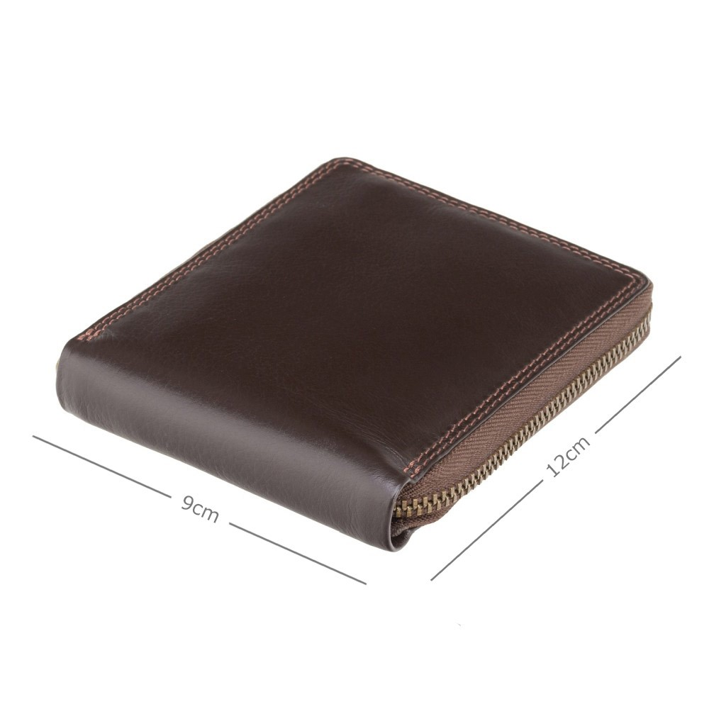 Мужской кошелек Visconti HT14 Tap-n-Go - Camden (Brown)