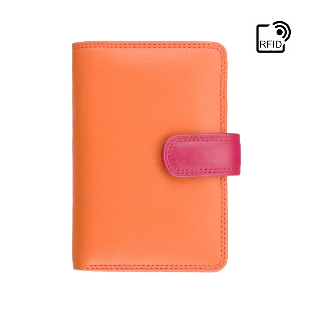 Женский кошелек Visconti RB51 - Fiji с RFID (Orange Multi)