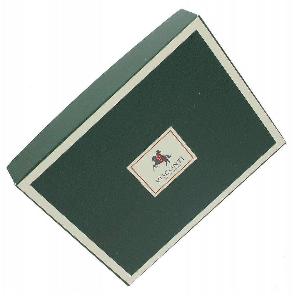 Женский кожаный кошелек Visconti HT35 Buckingham (Choc)