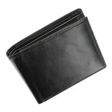 Мужской кожаный кошелек Visconti MZ4 - Lazio (black)