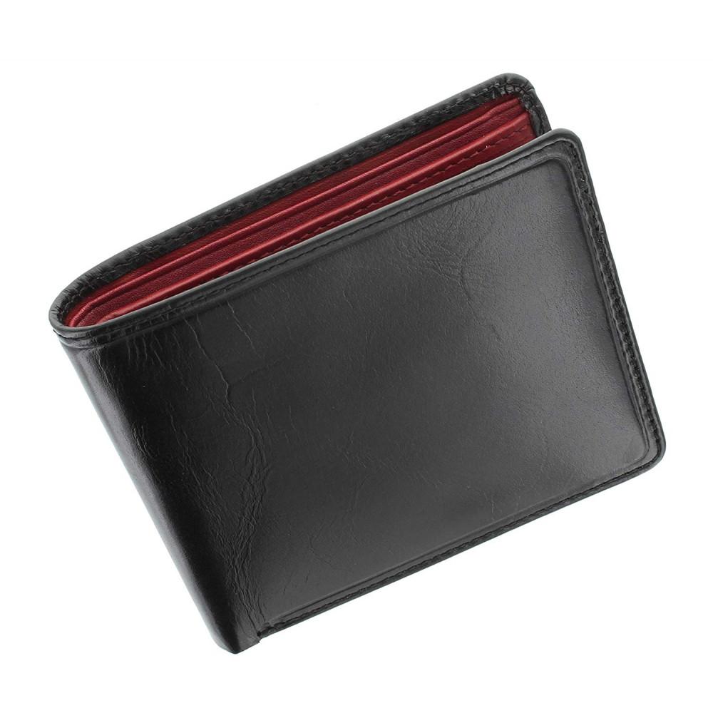 Мужской кошелек Visconti TR30 - Raffle (Black-Red)