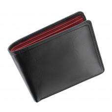Мужской кошелек Visconti TR30 Raffle (Black-Red)