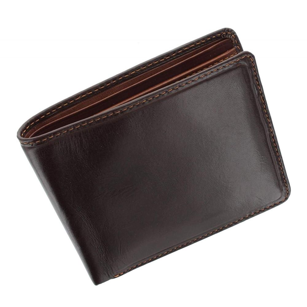 Мужской кожаный кошелек Visconti TR30 Raffle c RFID (Brown Tan)
