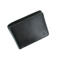 Мужской кошелек с монетницей Visconti TSC46 с RFID Francesca (Black)