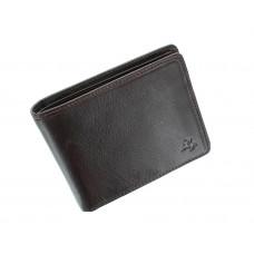 Мужской кошелек с монетницей Visconti TSC46 с RFID Francesca (Brown)