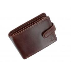 Мужской кожаный кошелек Visconti TSC47 с защитой RFID - Riccardo (tan)