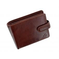 Мужской кожаный кошелек Visconti TSC48 с защитой RFID - Filipo (tan)