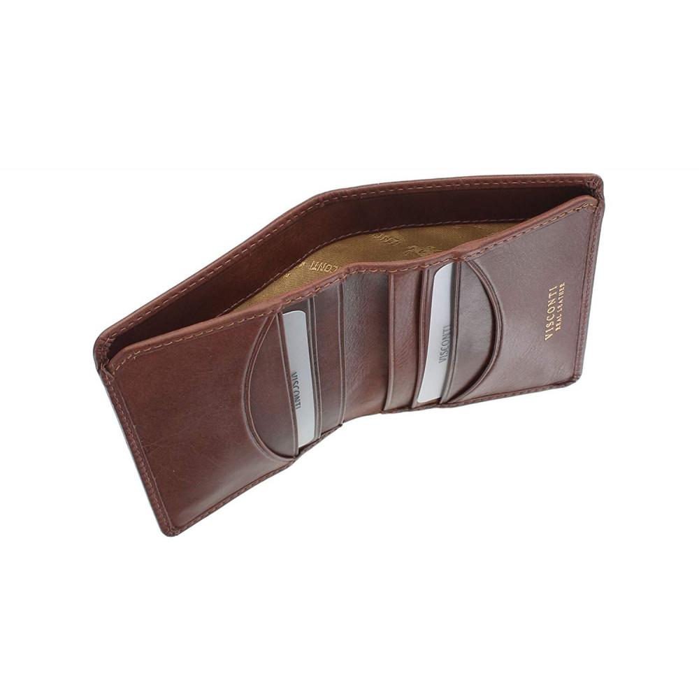 Мужской кошелек Visconti TSC39 с RFID - Xavi (tan)