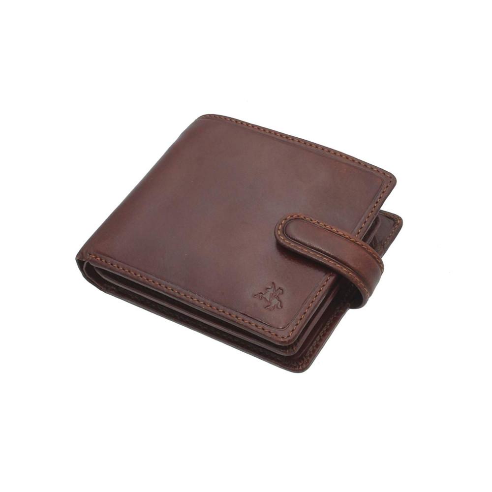 Мужской кошелек Visconti TSC42 с защитой RFID - Arezzo (Tan)