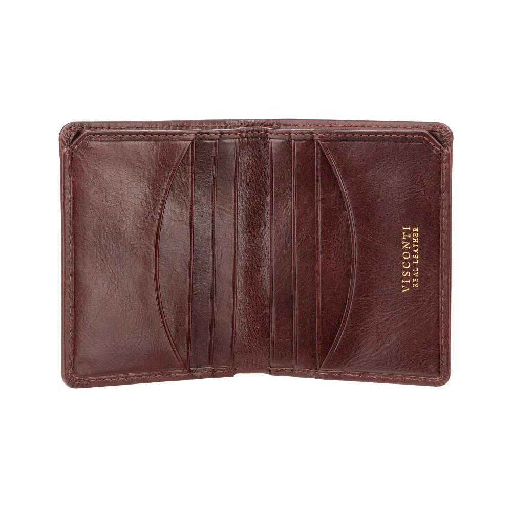 Мужской кожаный кошелек Visconti TSC39 с RFID - Xavi (brown)